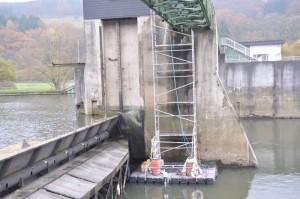 Brückensanierung Ponton